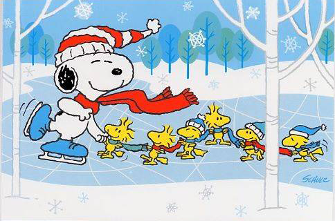 Snoopy on Ice